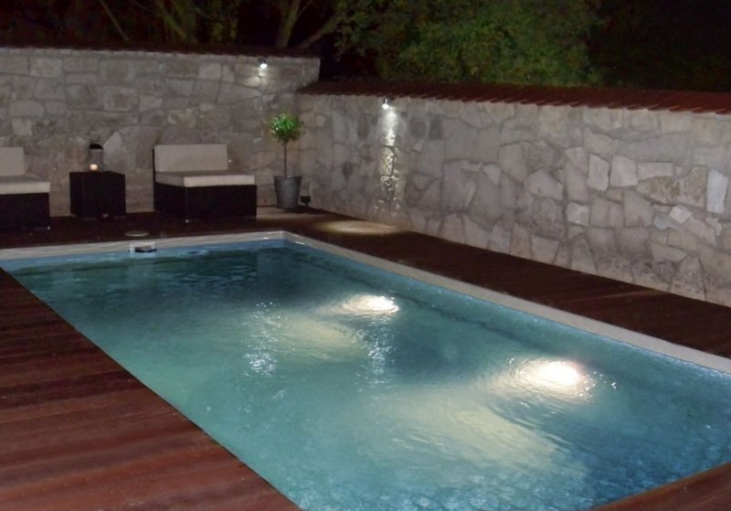 fertig schwimmbecken 6x3x1 50 set led inkl transport ebay. Black Bedroom Furniture Sets. Home Design Ideas