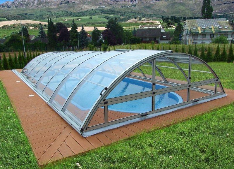 pool berdachung schwimmbad abdeckung pool dach profi 1 ebay. Black Bedroom Furniture Sets. Home Design Ideas