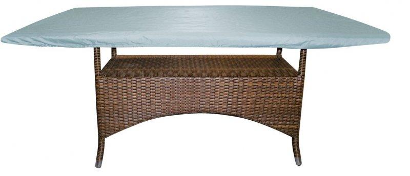 schutzh lle gartentisch tischabdeckung abdeckhaube 170cm x 110cm grau etgf0061. Black Bedroom Furniture Sets. Home Design Ideas