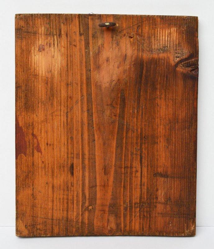 ikone gem lde sehr feine malerei auf blattgold leinwand holz 26x21cm um 1900 ebay. Black Bedroom Furniture Sets. Home Design Ideas