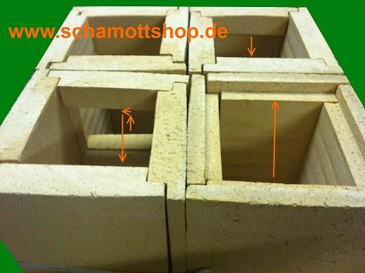 Schamotteonlineshop Grundofen Grundofen Grundofen Bausatz