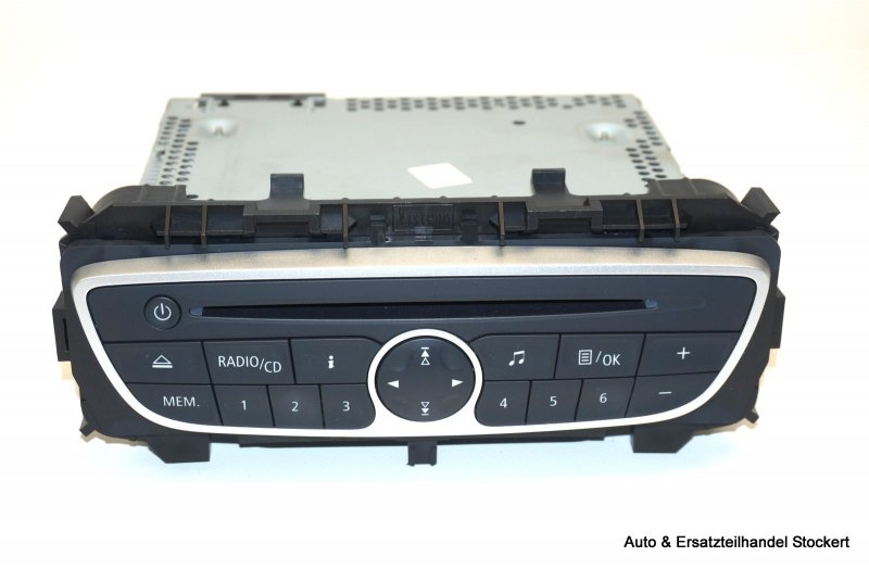 renault twingo ii 2 cn0 cn04 1 2 autoradio cd tuner 281150031r ebay. Black Bedroom Furniture Sets. Home Design Ideas