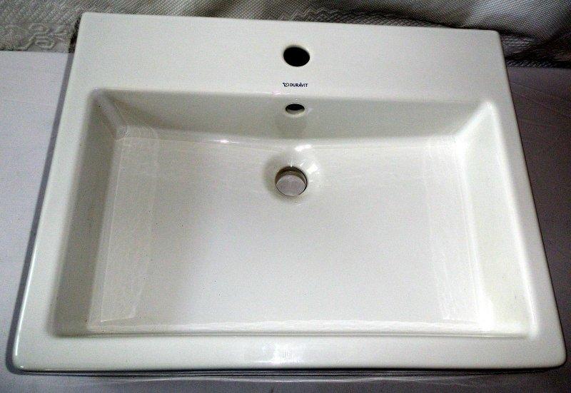 duravit vero waschtisch neu 60x47x13cm weiss mit. Black Bedroom Furniture Sets. Home Design Ideas