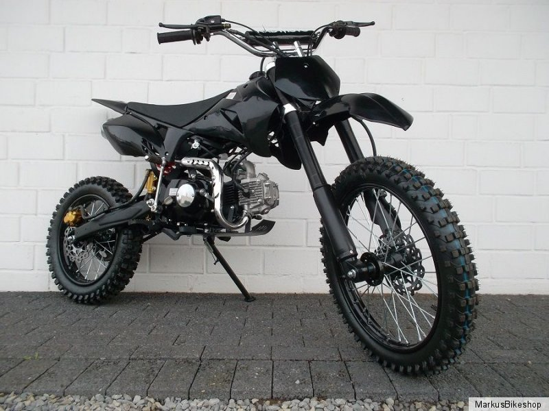 pitbike dirtbike vollcross 125ccm pocket bike enduro 4. Black Bedroom Furniture Sets. Home Design Ideas