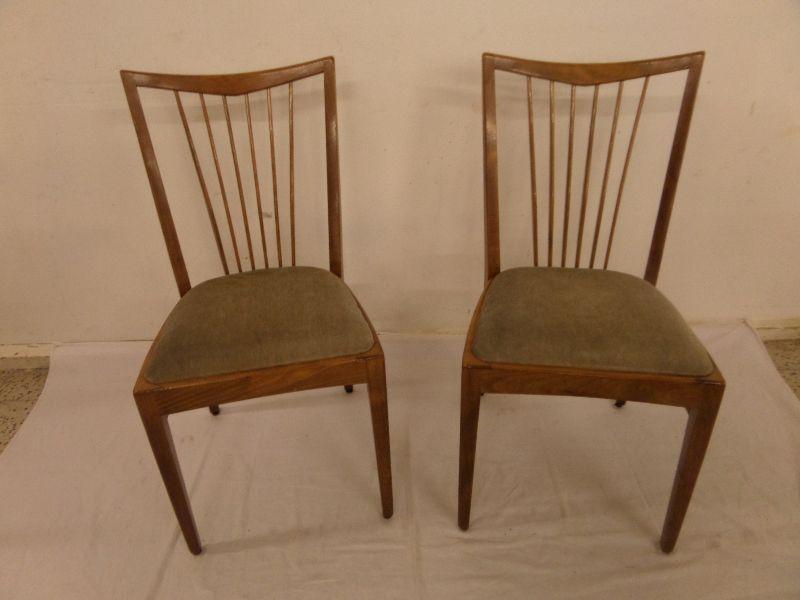 stuhl st hle f cherstuhl holzstuhl mit polster 40er 50er. Black Bedroom Furniture Sets. Home Design Ideas