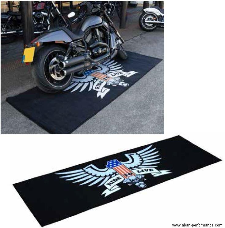 garagenmatte v2 amerikan eagle teppich werkstatt ausstellung messe showroom ebay. Black Bedroom Furniture Sets. Home Design Ideas