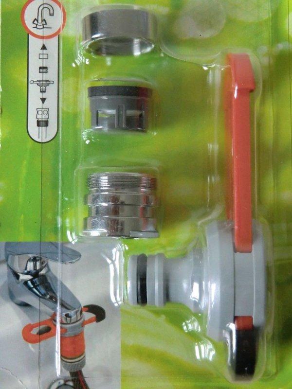 gardena adapter f r indoor wasserh hne m22 x 1 m24 x 1. Black Bedroom Furniture Sets. Home Design Ideas