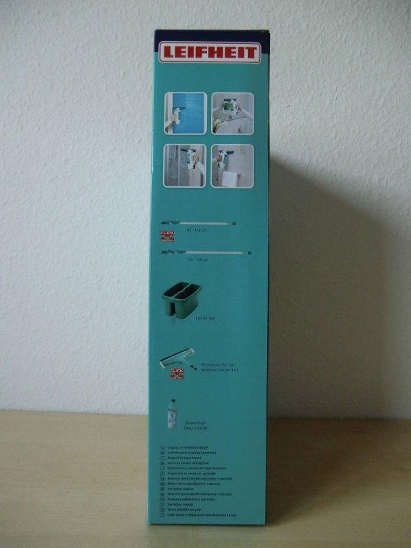 leifheit fenstersauger mit stiel sauger fenster fensterputzer akku 51114 ebay. Black Bedroom Furniture Sets. Home Design Ideas