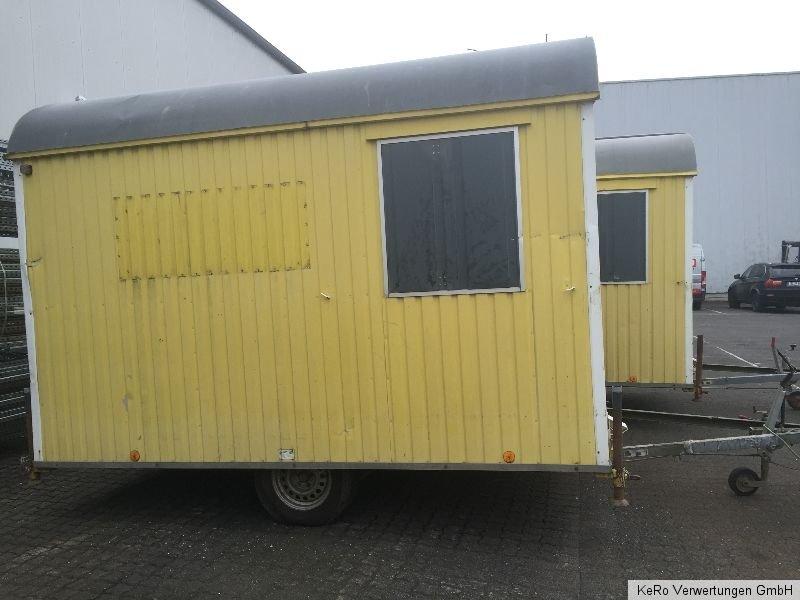 bauwagen baustellenwagen baubude aufenthaltsraum weisig nr 2 incl mwst ebay. Black Bedroom Furniture Sets. Home Design Ideas