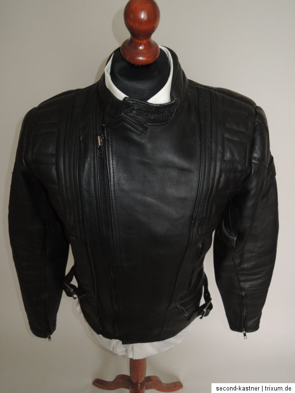 belstaff herren motorrad jacke lederjacke motorradjacke outlaw leder gr 52 l xl ebay. Black Bedroom Furniture Sets. Home Design Ideas