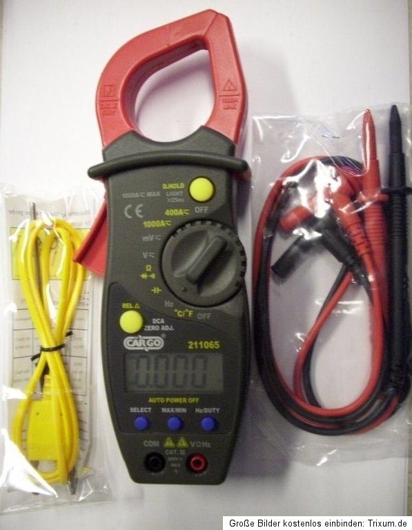 sonde d 39 injection pinces multimeter ac dc courant continu pince thermom tre 211065 ebay. Black Bedroom Furniture Sets. Home Design Ideas