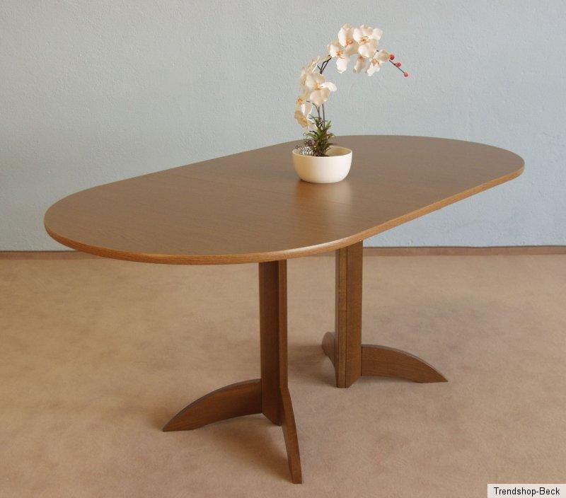 Esstisch mit einlegeplatte oval k chentisch esszimmertisch for Esszimmertisch oval