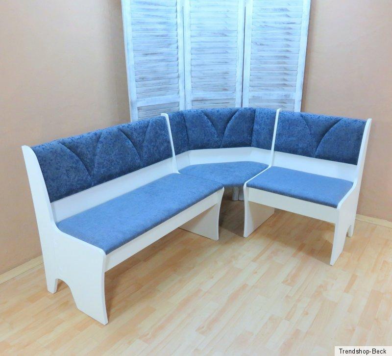 Truheneckbank Weiß ~ Inneneinrichtung und Möbel