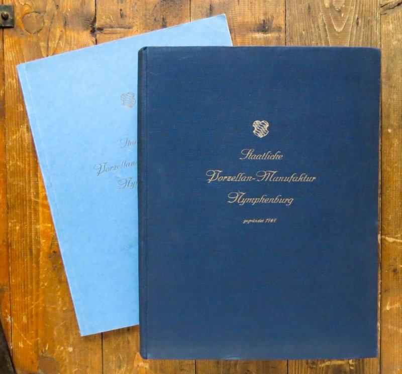 1925 nymphenburger porzellan musterbuch geschirr tafelservice 2 b nde ebay. Black Bedroom Furniture Sets. Home Design Ideas