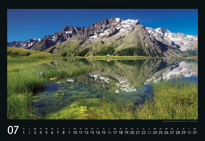 xl kalender naturlandschaften europas 2017 50x34 wandkalender berge seen w lder ebay. Black Bedroom Furniture Sets. Home Design Ideas