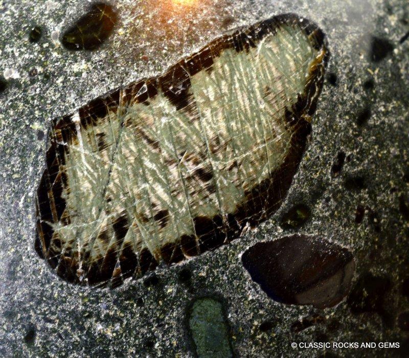 Igneous Diamond: Kimberlite Sphere Monastir Mine Diamond Bearing Ultramafic