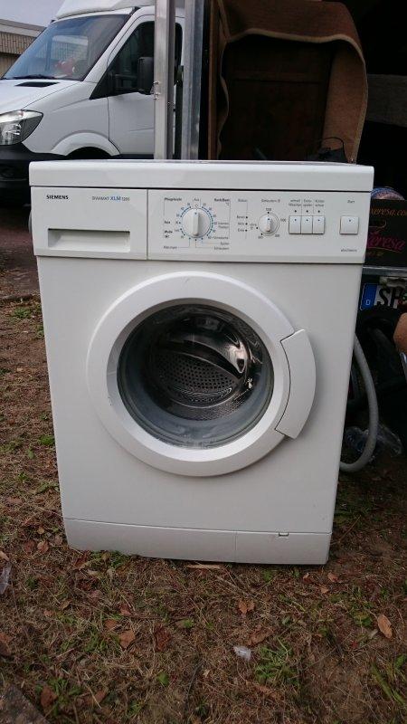 siemens siwamat xlm 1260 waschmaschine ebay. Black Bedroom Furniture Sets. Home Design Ideas