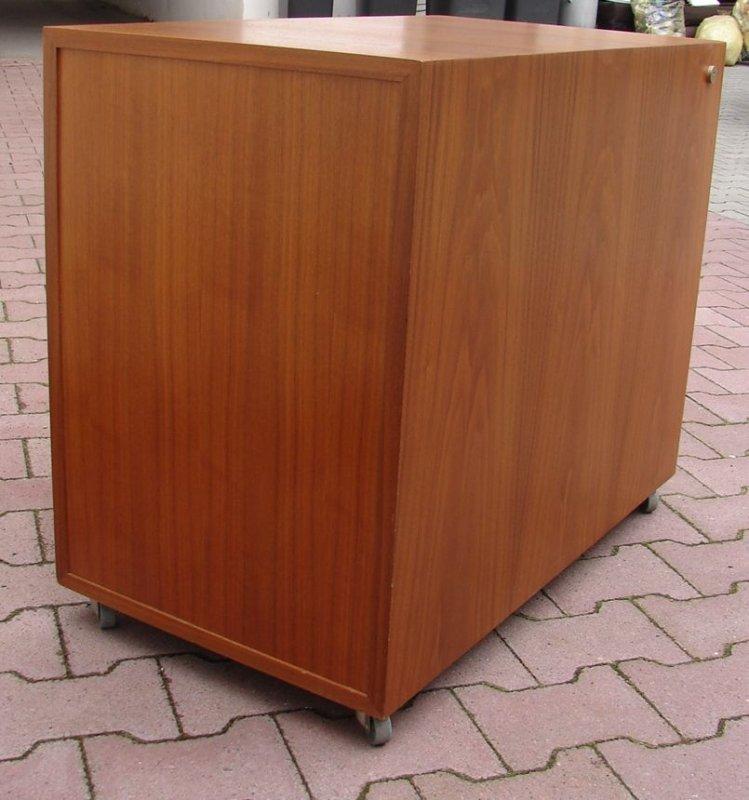 container rollcontainer schreibtisch b ro holz nu baum. Black Bedroom Furniture Sets. Home Design Ideas