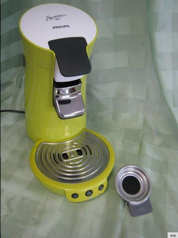 philips senseo hd 7825 kaffeepadmaschine olive gr n inkl 1er padhalter ebay. Black Bedroom Furniture Sets. Home Design Ideas