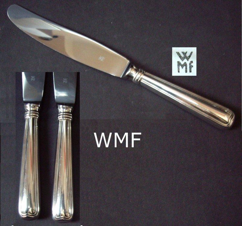 wmf augsburger faden 6 vorspeisen messer 6 knifes 90er silber 20 5 cm ebay. Black Bedroom Furniture Sets. Home Design Ideas