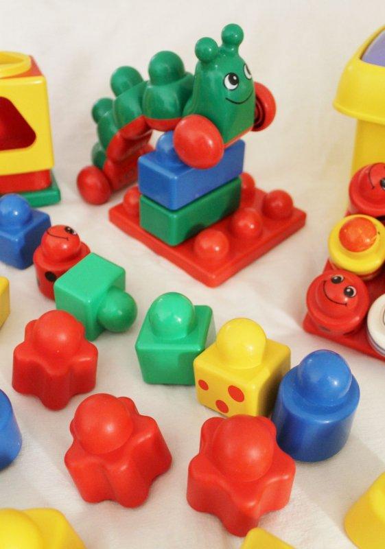 64 tlg paket lego primo duplo rot gelb gr n blau sortierbox raupe konvolut ebay. Black Bedroom Furniture Sets. Home Design Ideas