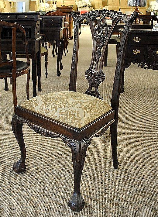 6er stuhl set st hle polsterstuhl mahagoni brown walnuss. Black Bedroom Furniture Sets. Home Design Ideas