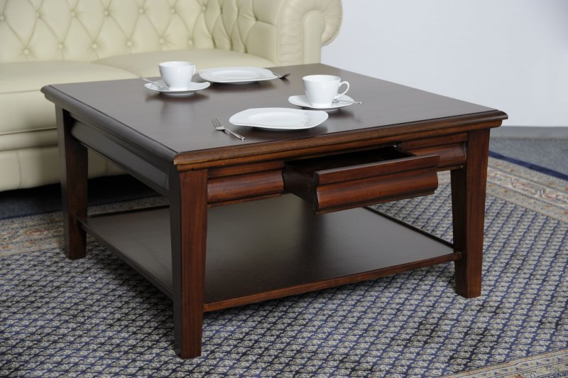 tisch couchtisch mahagoni james straight line collection 90 x 90 cm ebay. Black Bedroom Furniture Sets. Home Design Ideas