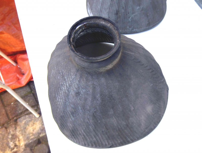 antike glaslampe das glas ist von au en spiegel beschichtet rar i ebay. Black Bedroom Furniture Sets. Home Design Ideas