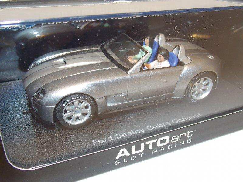 ford shelby cobra concept slot car auto art 1 32. Black Bedroom Furniture Sets. Home Design Ideas