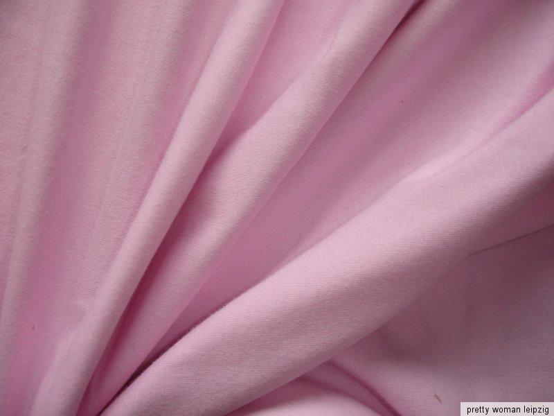 1 Lfm Jersey 3,55€/m² Trikotstoff Baumwolle, Elasthan rosa FF31