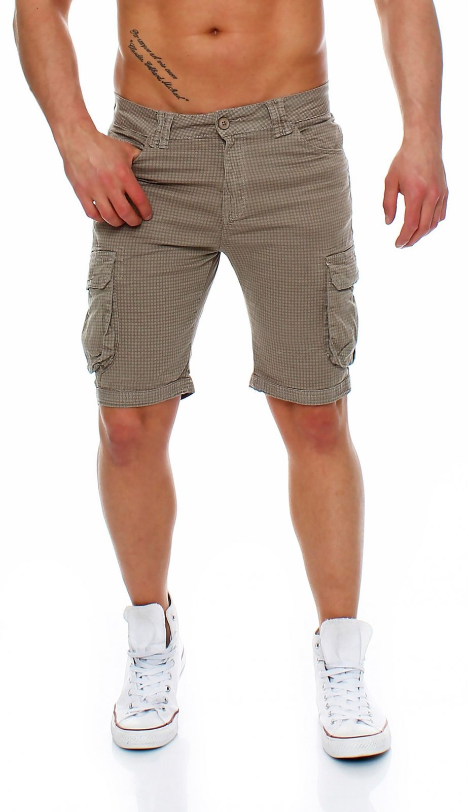 herren cargo shorts bermuda shorts mens pants kurze 5 pocket hose shorts karo ebay. Black Bedroom Furniture Sets. Home Design Ideas