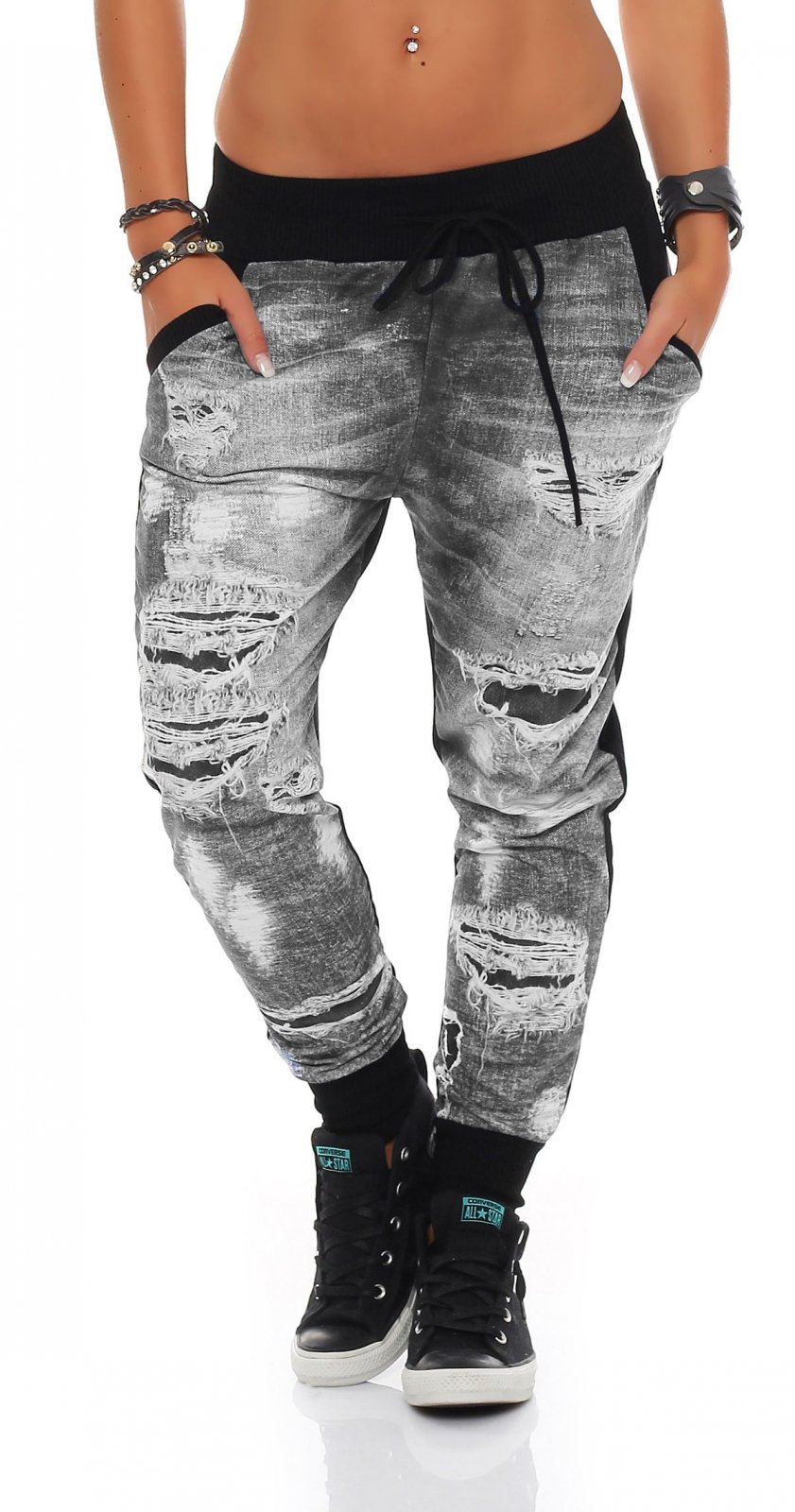 Jogginghose jeans look damen