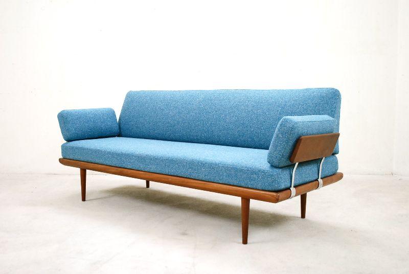 France son daybed minerva 60er hvidt nielsen sofa teak for Sofa 60er gebraucht