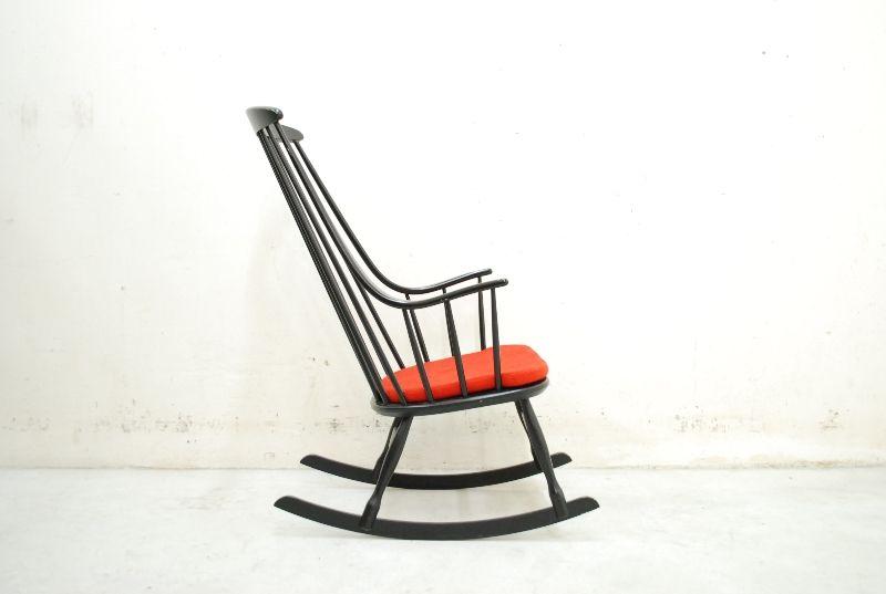 Lena larsson rocking chair sessel modell bohem 2402 danish for Schaukelstuhl lena larsson
