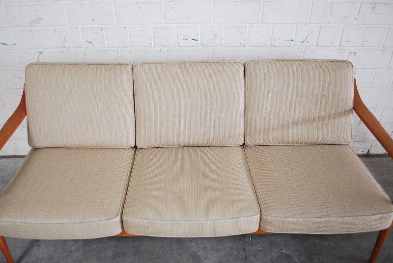 Fine knoll antimott sofa 60er danish ra teak wood ebay for Sofa 60er gebraucht