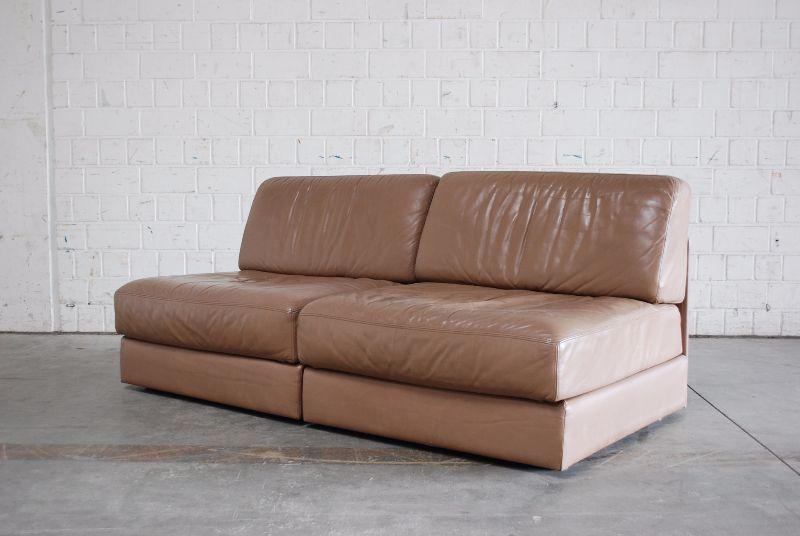 de sede ds 76 sofa vintage ledersofa schlafsofa beige. Black Bedroom Furniture Sets. Home Design Ideas
