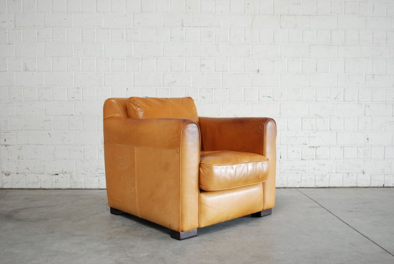 incanto giovanni sforza collection whiskey cognac club lounge chair ledersessel ebay. Black Bedroom Furniture Sets. Home Design Ideas
