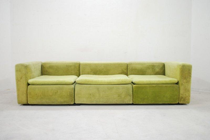 cor modell cubus sofa trio ra wohnlandschaft modular 70er. Black Bedroom Furniture Sets. Home Design Ideas