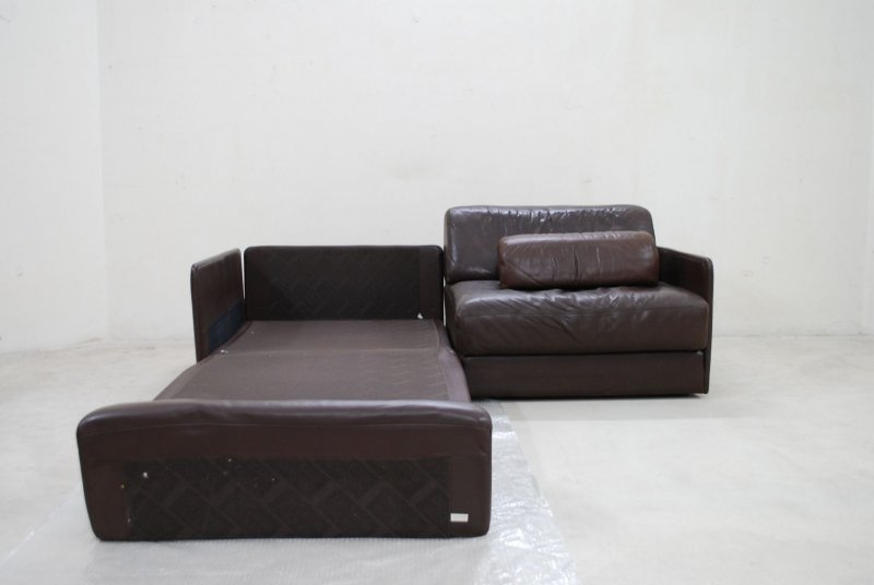 de sede ds 76 sofa vintage ledersofa schlafsofa braun ebay. Black Bedroom Furniture Sets. Home Design Ideas
