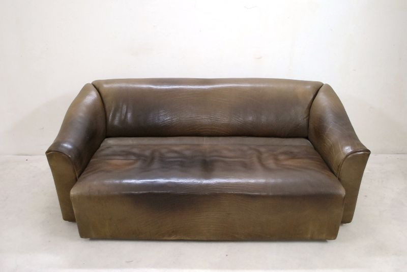 de sede ds 47 ds 47 03 vintage neckleder sofa ledersofa ebay. Black Bedroom Furniture Sets. Home Design Ideas