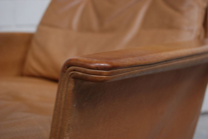 cor sedia vintage br ning 1 2 ledersessel sessel lounge chair whiskey cognac. Black Bedroom Furniture Sets. Home Design Ideas