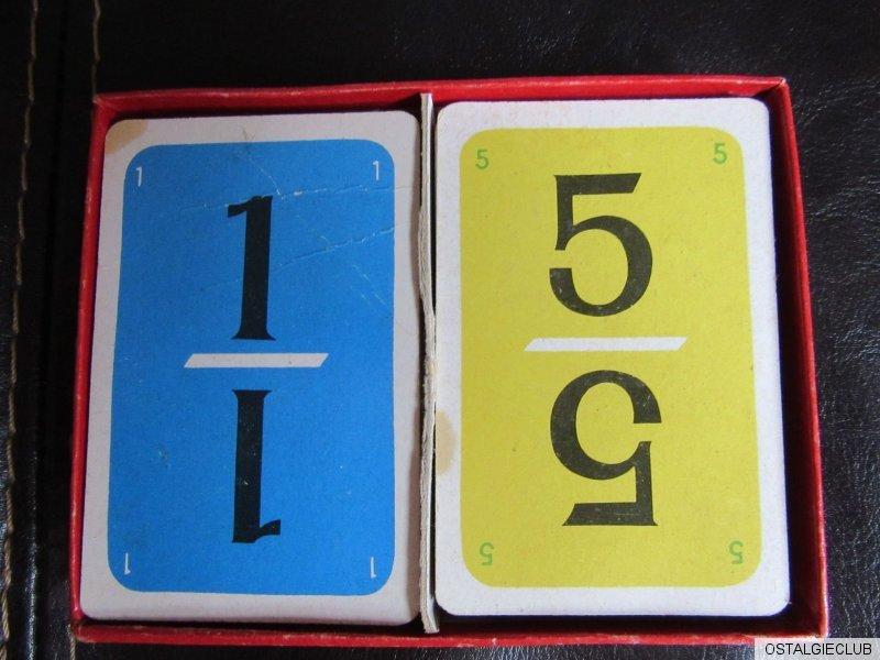 spiele mit zahlen ein anregendes kartenspiel f r jung alt 60er jahre ebay. Black Bedroom Furniture Sets. Home Design Ideas