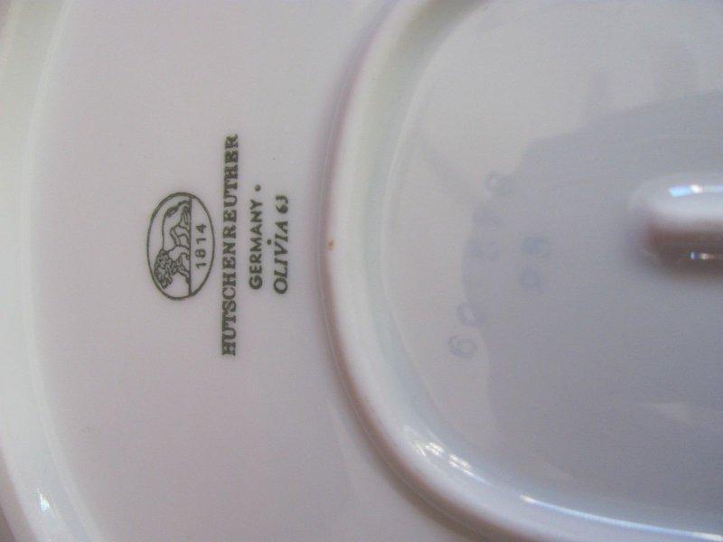 hutschenreuther olivia 63 kobalt mit tzgoldrand servierplatte 32cm ebay. Black Bedroom Furniture Sets. Home Design Ideas