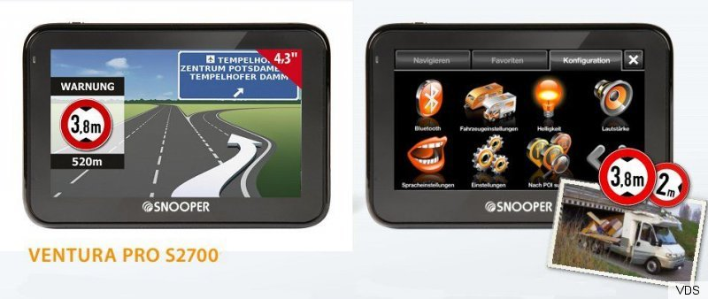 navigationssystem navi s 2700 caravan wohnmobil wohnwagen. Black Bedroom Furniture Sets. Home Design Ideas