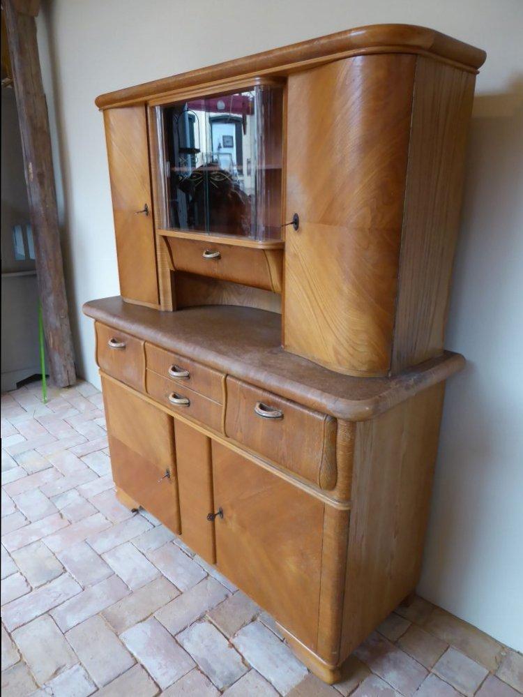 alter k chenschrank k chenbuffet anrichte retro vintage 50er 60er 140cm breit ebay. Black Bedroom Furniture Sets. Home Design Ideas