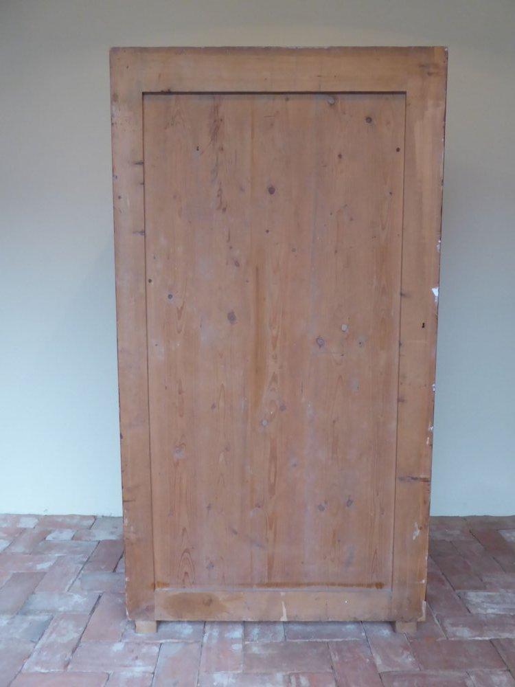 sch ner art deco schrank holzschrank werkstatt loft kleiderschrank 20er 30er ebay. Black Bedroom Furniture Sets. Home Design Ideas