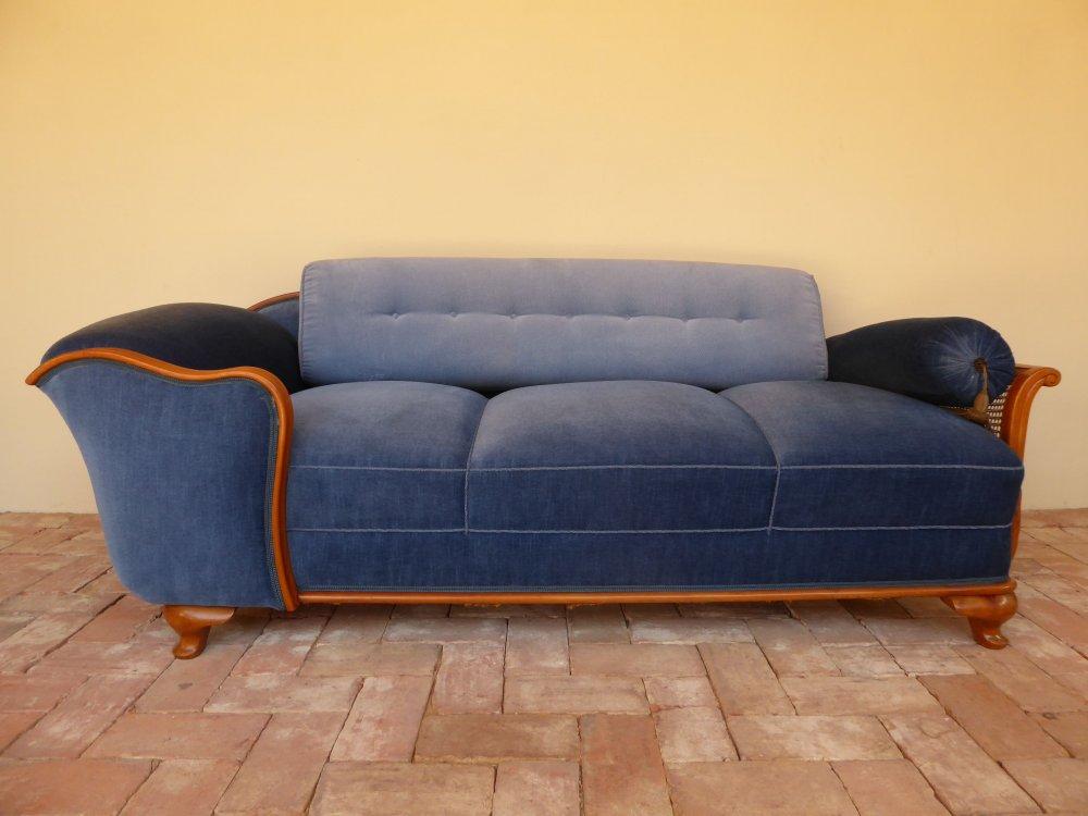20s jugendstil art deco couch sofa chaiselounge recamiere for Couch jugendstil