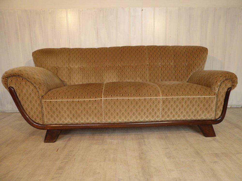 chill out area couch sofa 40er 50er retro vintage ebay. Black Bedroom Furniture Sets. Home Design Ideas