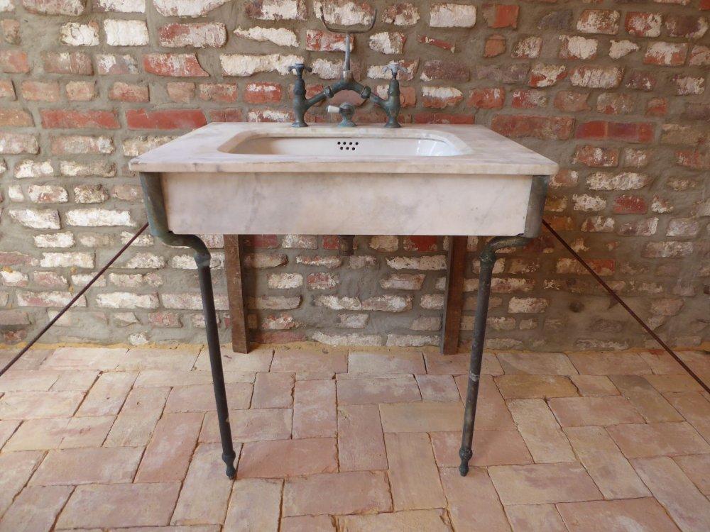 2 x antiker gr nderzeit waschtisch waschbecken friseur for Antike waschtische