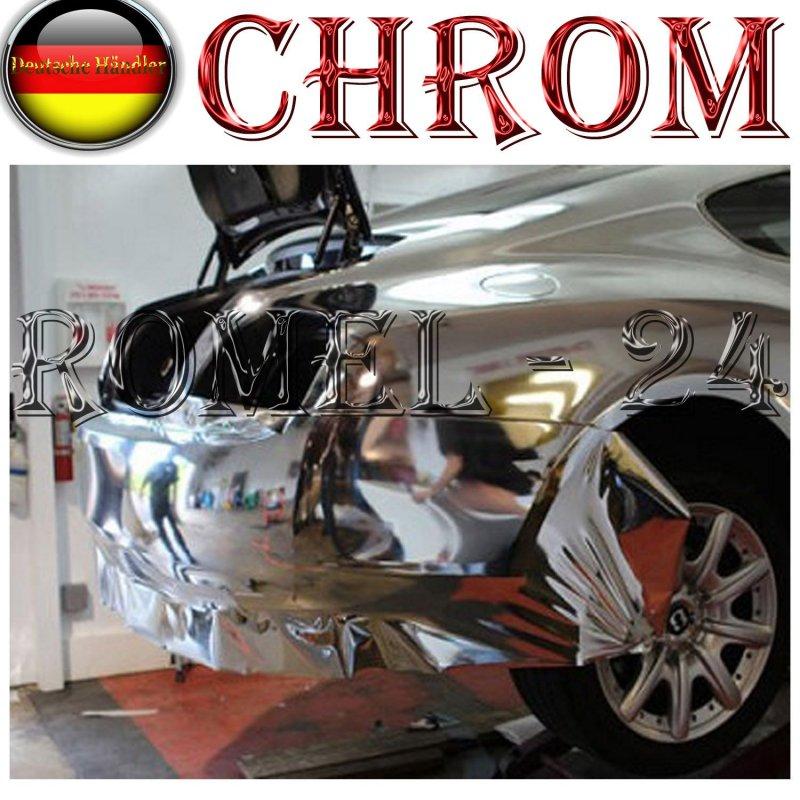 21 00 m chromfolie auto chrom folie silber klebefolie selbstklebend m bel ebay. Black Bedroom Furniture Sets. Home Design Ideas